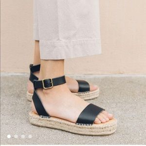 NWT SOLUDOS Cadiz Flatform Sandals Espadrilles!!